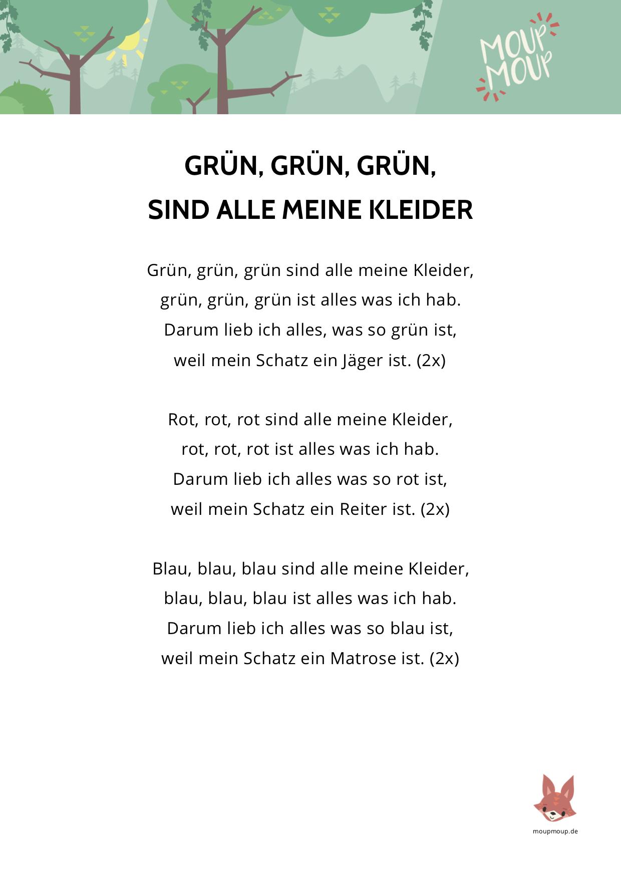Text Von Lieder